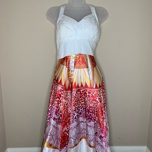 Sangria Halter Dress
